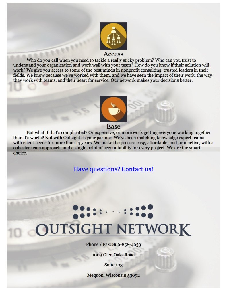 Outsight Network-Lead Strategist pg5