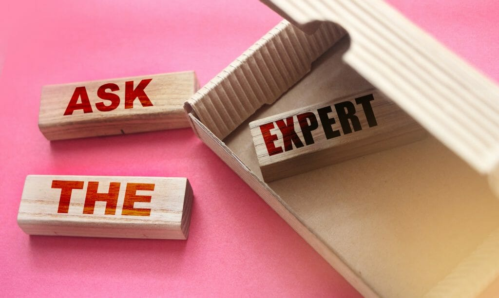 Sign that it is time to ask the expert for help